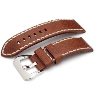 24mm Leather Band CA2422056RD